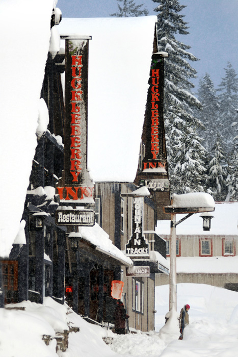 2012-Winter-Oregon-Columbia-Gorge-Mt-Hood-Hwy-26-Government-Camp-Huckleberry-Inn