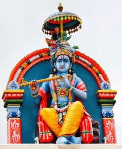 Krishna at Sri Mariamman Temple Singapore
