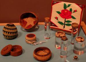 2010-Winter-Central-Oregon-Bend-High-Desert-Museum-Native-American-Pat-Courtney-Gold-art