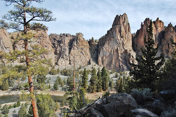 talia galvin, smith rock, central oregon
