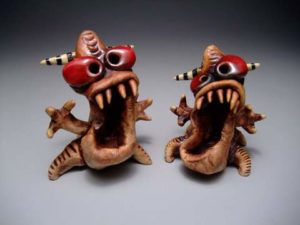 2010-Autumn-Oregon-Portland-clay-monster-brothers-by-James-DeRosso