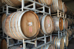 Wine-Casks-at-Yamhill-Valley-Vineyards