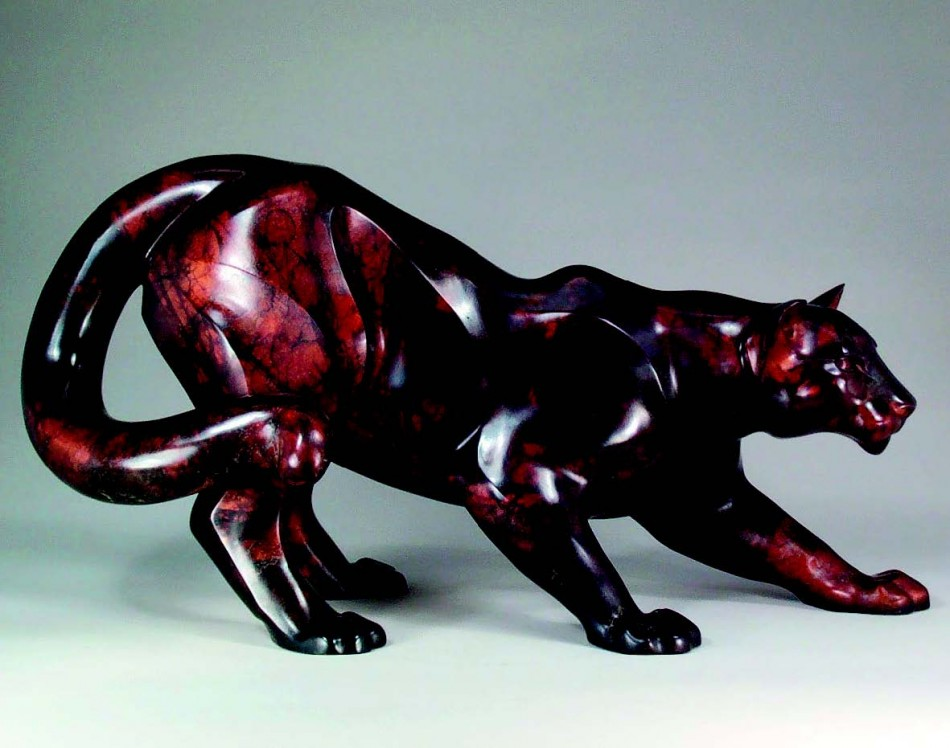2009-Autumn-Oregon-Artist-Shelley-Curtiss-sculptor-cougar-clay-art-figures