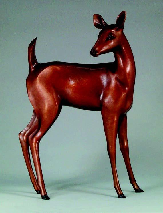 2009-Autumn-Oregon-Artist-Shelley-Curtiss-sculptor-deer-clay-art-figures
