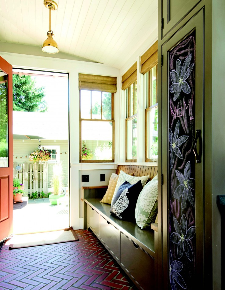 2010 Autumn Central Oregon Remodel Interior Design Bend Knight Residence Mudroom 1859 Oregon S Magazine