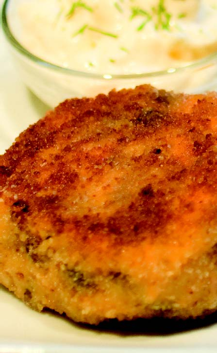 2010-Autumn-Oregon-Food-Recipe-Salmon-Cakes-with-Truffle-Mayonnaise-eat-cook-chef