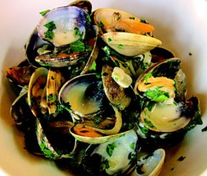 2010-Spring-Oregon-Recipe-Willamette-Valley-Dundee-The-Dundee-Bistro-Wine-Country-Manila-Clams-eat-food-chef-cook