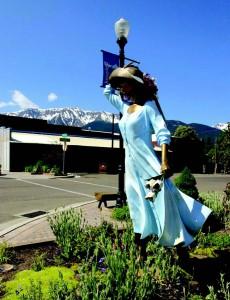 2010-Summer-Eastern-Oregon-Travel-Outdoors-Joseph-downtown-bronze-sculpture-Garden-Walk