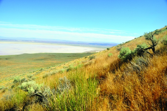 2011-Autumn-Eastern-Oregon-Hike-Outdoors-The-Steens-Alvord-Desert-side-hill-hiking