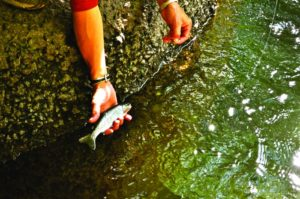 2011-Autumn-Eastern-Oregon-Hike-Outdoors-The-Steens-Brent-Fenty-holding-fish