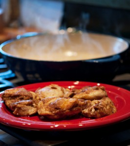 2011-Autumn-Oregon-Recipe-Tangy-Chicken-Thighs-plate-of-chicken-thighs-eat-food-chef-cook