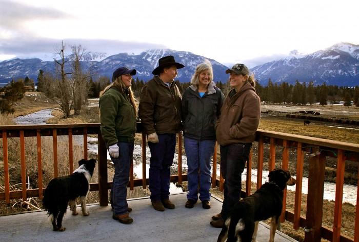 2011-Spring-Eastern-Oregon-Wallowas-McClaran-family-on-their-ranch
