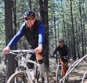 2011-Summer-Central-Oregon-Travel-Bend-two-men-on-bikes
