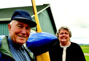2011-Summer-Oregon-Travel-Willamette-Valley-Independence-Emile-and-Elizabeth-Plude-with-airplane