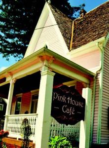 2011-Summer-Oregon-Travel-Willamette-Valley-Independence-Pink-House-Cafe-food-drink-eat-restaurant