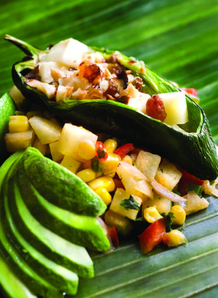 2011-Winter-Oregon-Recipe-from-Home-Grown-Chef-Char-Grilled-Poblano-Peppers-and-Albuquerque-Corn-Salad