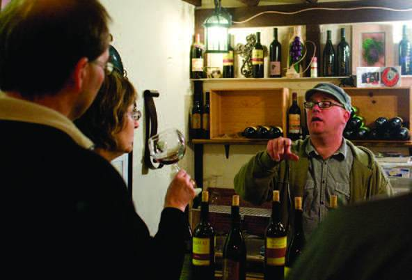 2011-Winter-Southern-Oregon-Travel-Outdoors-Wine-Umpqua-Valley-Palotai-Winery-barrel-samples