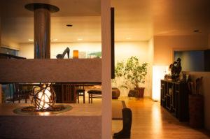 2012-November-December-1859-Portland-Oregon-Design-Fireplaces-modern-fireplace-lit