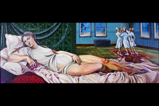 2012-Oregon-Artist-McMenamins-mural-of-lady-in-hospital-by-muralist-Myrna-Yoder-art