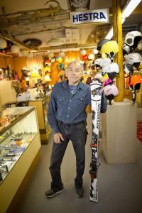2012-november-december-columbia-gorge-mt-hood-oregon-government-camp-into-the-soul-ski-shop-owner-bud-vailian-inside-shop-with-rossignol-skis