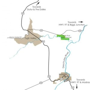 summer-2012-columbia-gorge-mt-hood-road-reconsidered-highway-197-maupin-dalles-tygh-valley-map