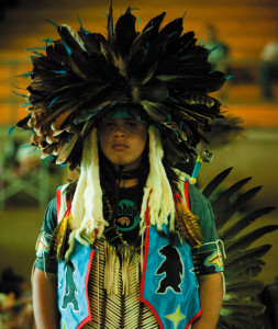 2009-Summer-Oregon-People-Ventures-Klamath-Tribes-male-in-traditional-dress