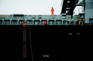 2010-Autumn-Oregon-Coast-People-Astoria-Pacific-Ocean-Columbia-River-Bar-huge-ship