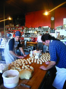 2012-Spring-Oregon-Coast-Food-and-Drink-Astoria-Farm-to-Table-Blue-Scorcher-Bakery-rolling-dough