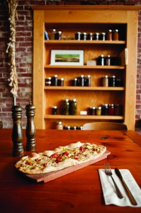 2012-Spring-Oregon-Road-Trip-Willamette-Valley-Highway-99-Amity-The-Blue-Goat-restaurant-oven-flatbread-eat-food-dine