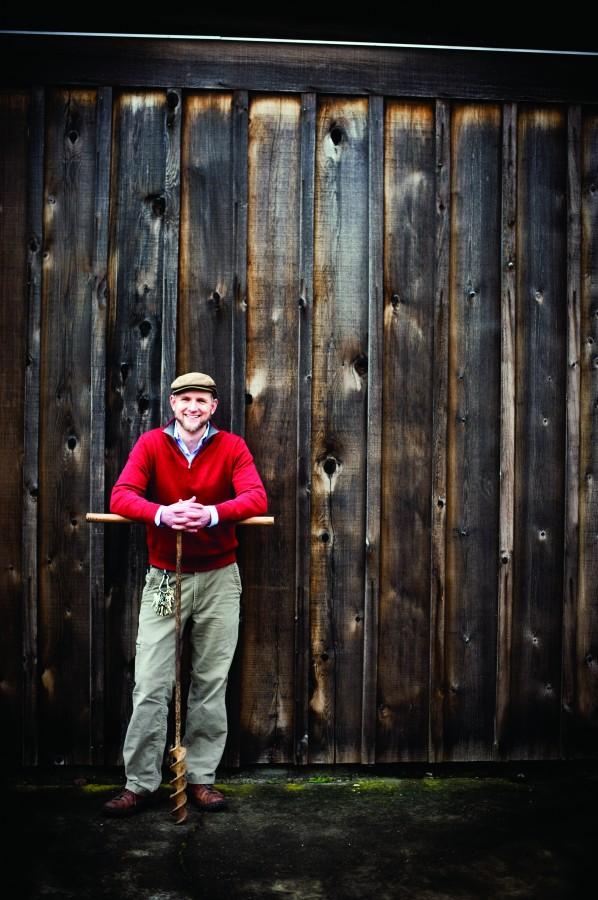 2012-Spring-Oregon-Wine-Willamette-Valley-Eyrie-Vineyards-Jason-Lett-winery-taste-grapes