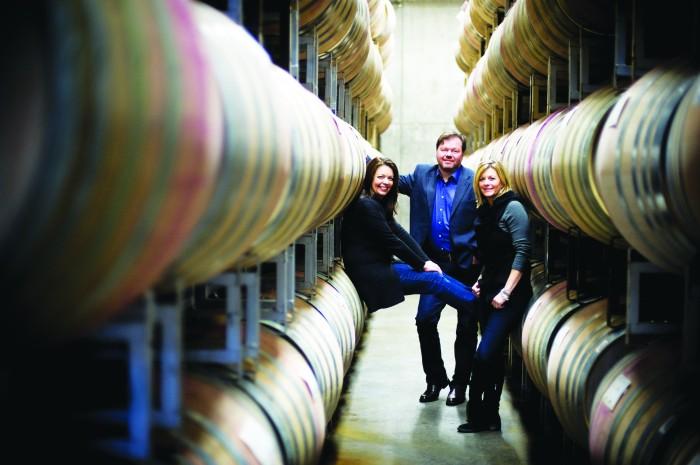 2012-Spring-Oregon-Wine-Willamette-Valley-Ponzi-Vineyards-Luisa-Michel-Maria-Ponzi-winery-taste-grapes