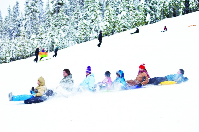 2012-Winter-Central-Oregon-Travel-Bend-Mt-Bachelor-kids-tubing-snow
