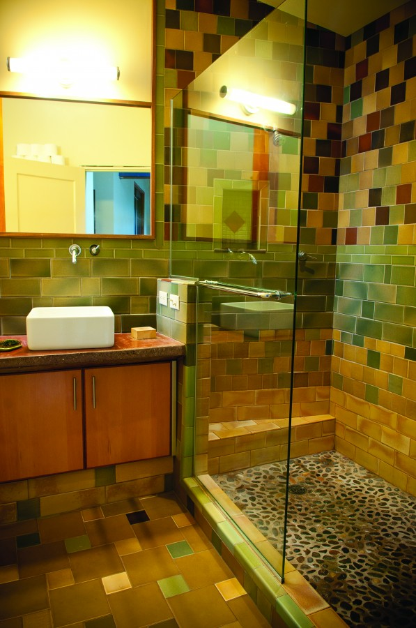 2012 Winter Oregon Home And Design Portland Omey Residence Bathroom Remodel Eco Friendly Energy