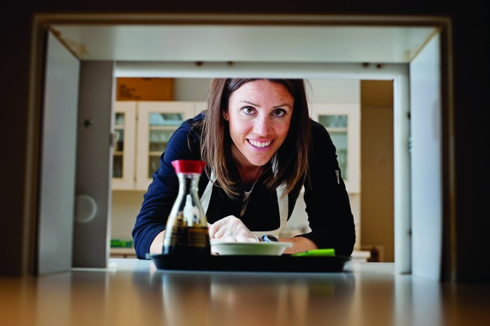 2012-Winter-Oregon-Interviews-Ventures-Willamette-Valley-Oregon-State-University-Food-Innovation-Center-Sensory-Scientist-Ann-Colonna-close-up