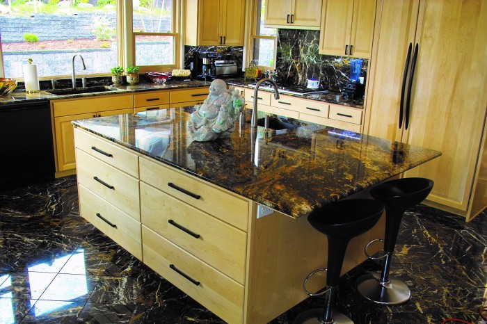 2012 winter southern oregon home and design ashland Energy efficient kitchen design