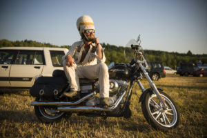 2013-July-August-Oregon-Travel-Explore-Clackamas-and-Oregon-Fairs-Leah-Nash-Man-on-Motorcycle