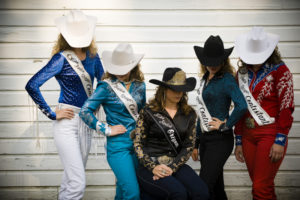 2013-July-August-Oregon-Travel-Explore-Clackamas-and-Oregon-Fairs-Leah-Nash-Miss-Rodeo-Oregon-Contestants-and-Winner