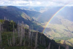 2013-July-August-Oregon-Travel-Explore-Michael-Oliver-Rainbow-Fire