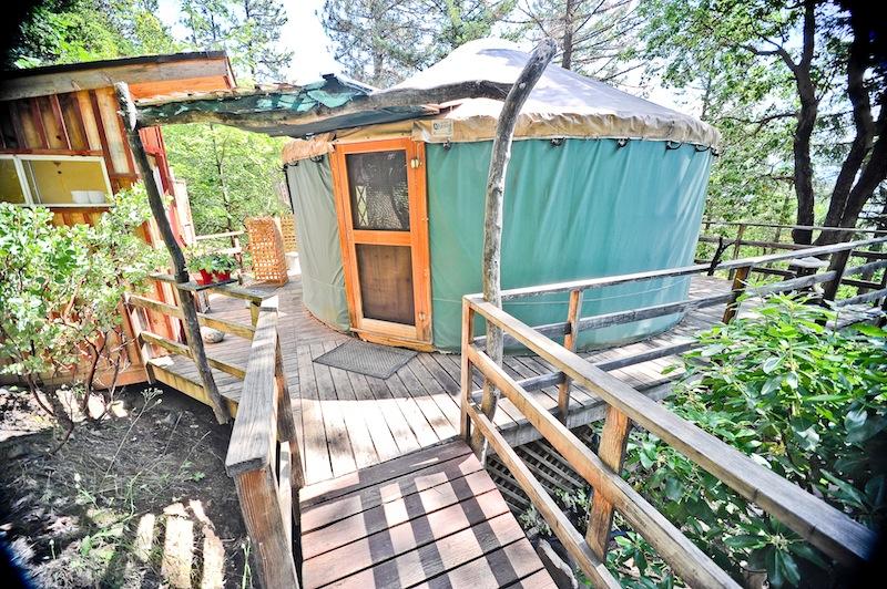 yurt, airbnb