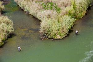 2013-July-August-Oregon-Fish-Oregon-Rivers-Tyler-Roemer-Fly-Fishing-Birds-Eye-River-Two-Men-Fishing