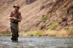 2013-July-August-Oregon-Fish-Oregon-Rivers-Tyler-Roemer-Fly-Fishing-Front-View-Standing-in-River