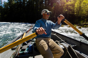 2013-July-August-Oregon-Fish-Oregon-Rivers-Tyler-Roemer-Fly-Fishing-Man-Rowing-Boat