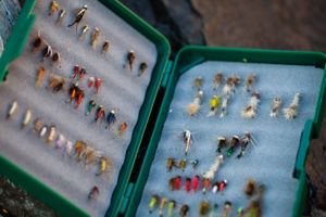 2013-July-August-Oregon-Fish-Oregon-Rivers-Tyler-Roemer-Fly-Fishing-Top-View-of-Tackle-Box
