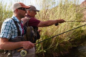 2013-July-August-Oregon-Fish-Oregon-Rivers-Tyler-Roemer-Fly-Fishing-Two-Men-Fishing