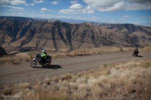 2013-July-August-Oregon-Travel-Explore-Eastern-Oregon-Tim-Labarge-Cliff-View-Dirt-Road