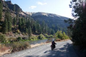 2013-July-August-Oregon-Travel-Explore-Eastern-Oregon-Tim-Labarge-Dirt-Road-River