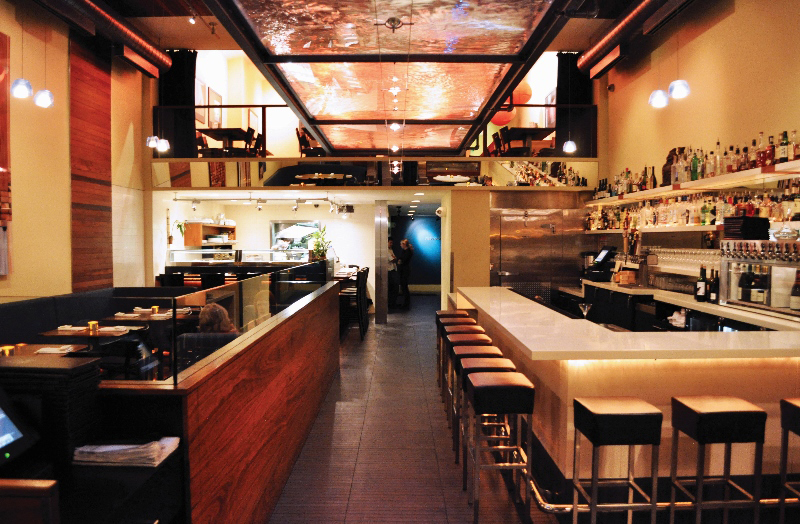 Image gallery modern sushi bar for Asian fusion cuisine and sushi bar