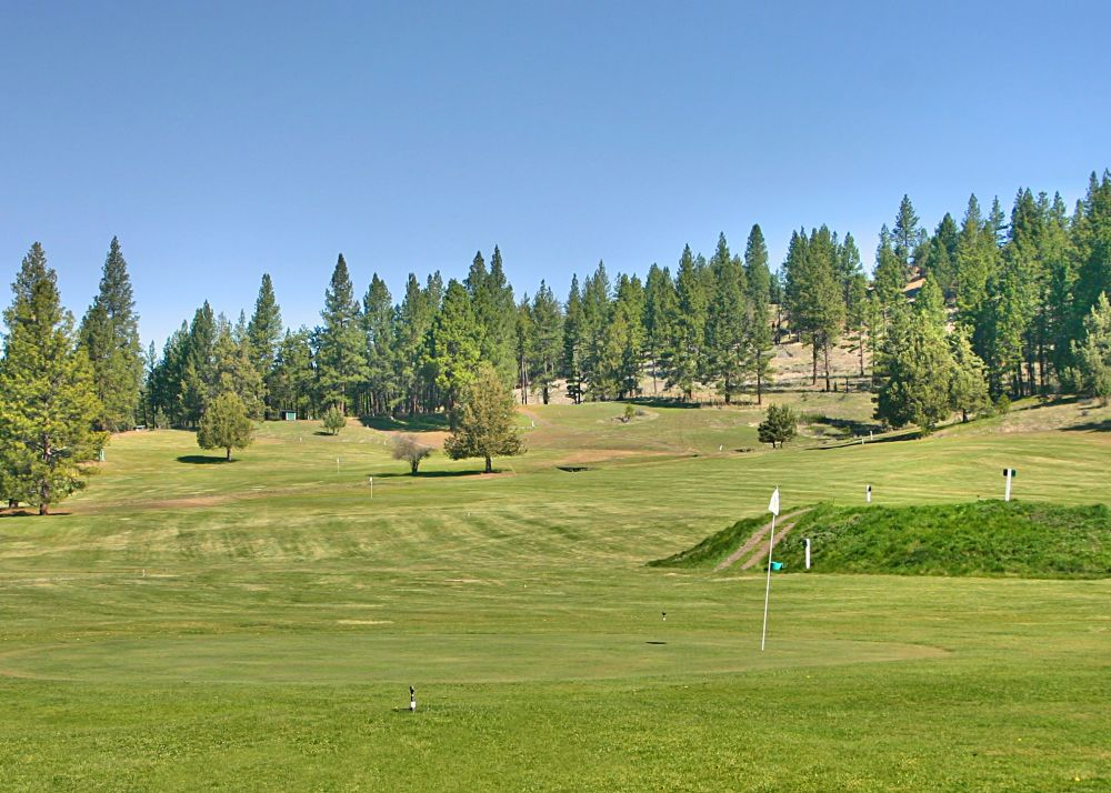zinzua hills golf course, fossil, oregon