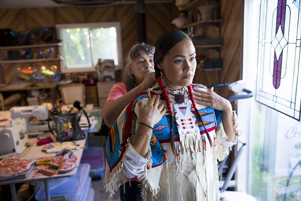 oregon native americans, acosia red elk, wildhorse resort and casino