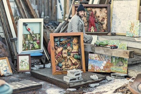 kendrick moholt, gabriel manca, mixed media art, oregon art, pacific northwest college of art